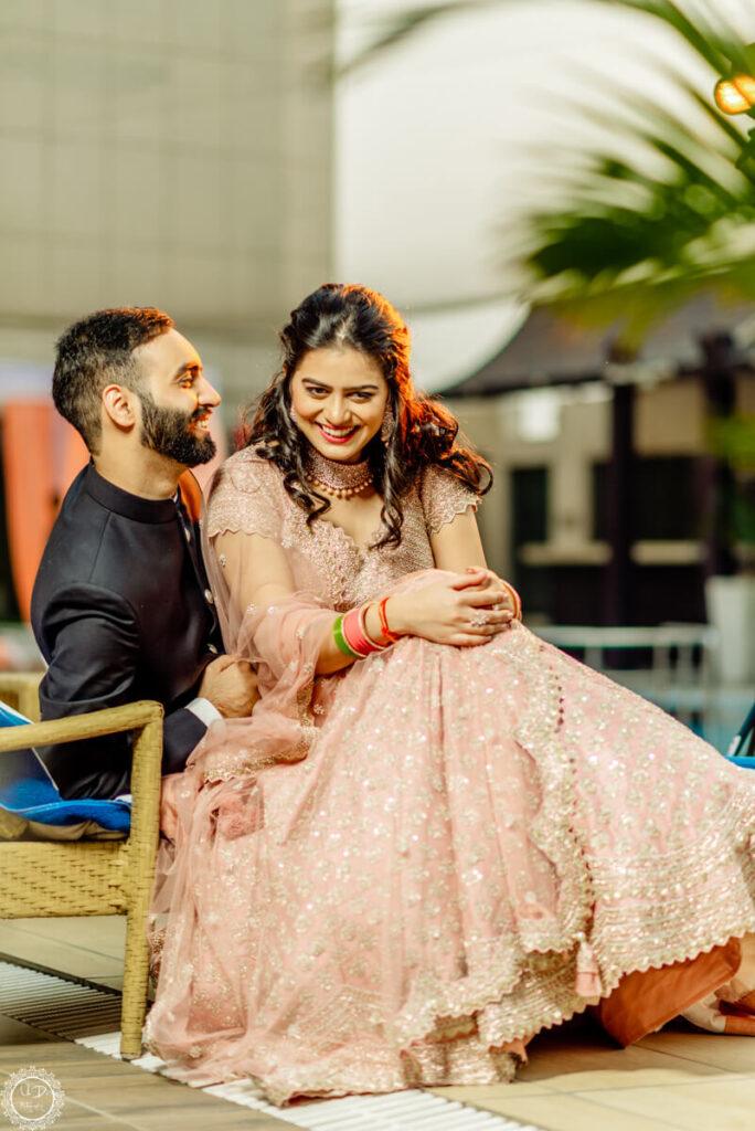 Engagement couple shoot